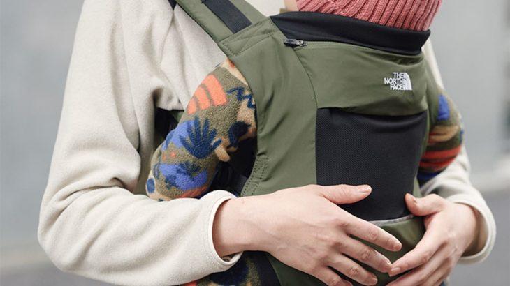 【朗報】ノースフェイスが抱っこ紐を発売!2万4200円だがロゴが表に見えるママ友にマウントを取りやすいデザイン