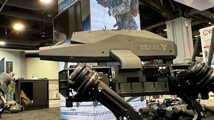 【ナゾロジー】ついに「ライフルを装備したロボット犬」が開発される