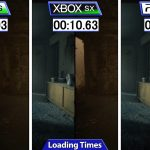 The Mediumのロード時間、PC→10秒、XboxSX→13秒、PS5→